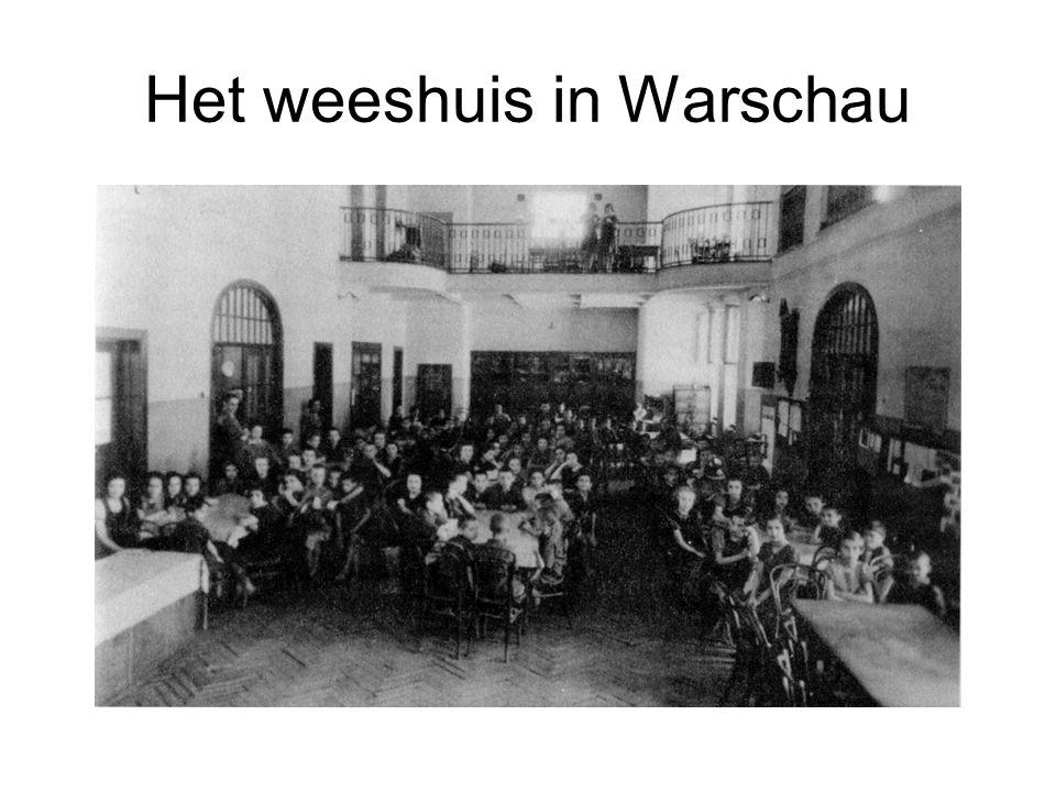 Het weeshuis in Warschau