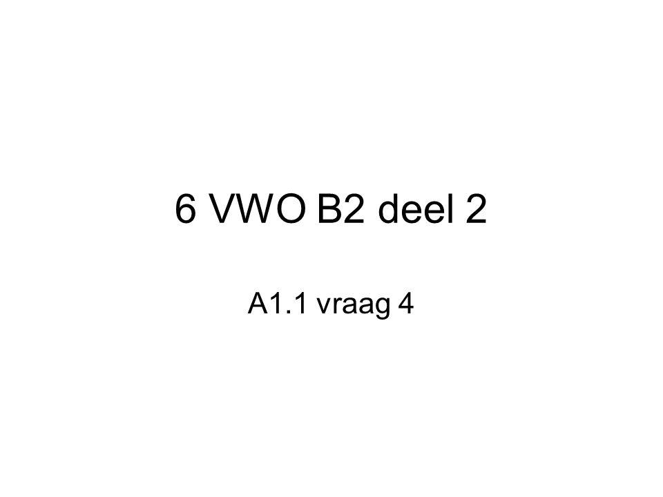 6 VWO B2 deel 2 A1.1 vraag 4