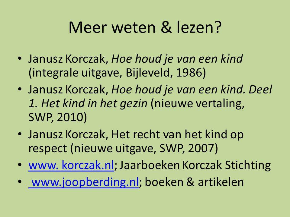 Meer weten & lezen.