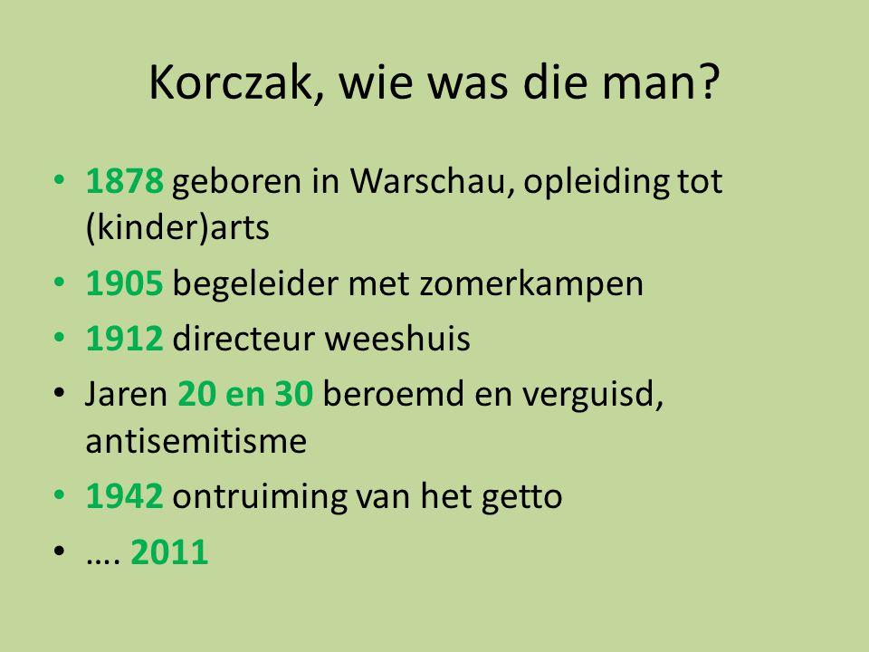 Korczak, wie was die man.