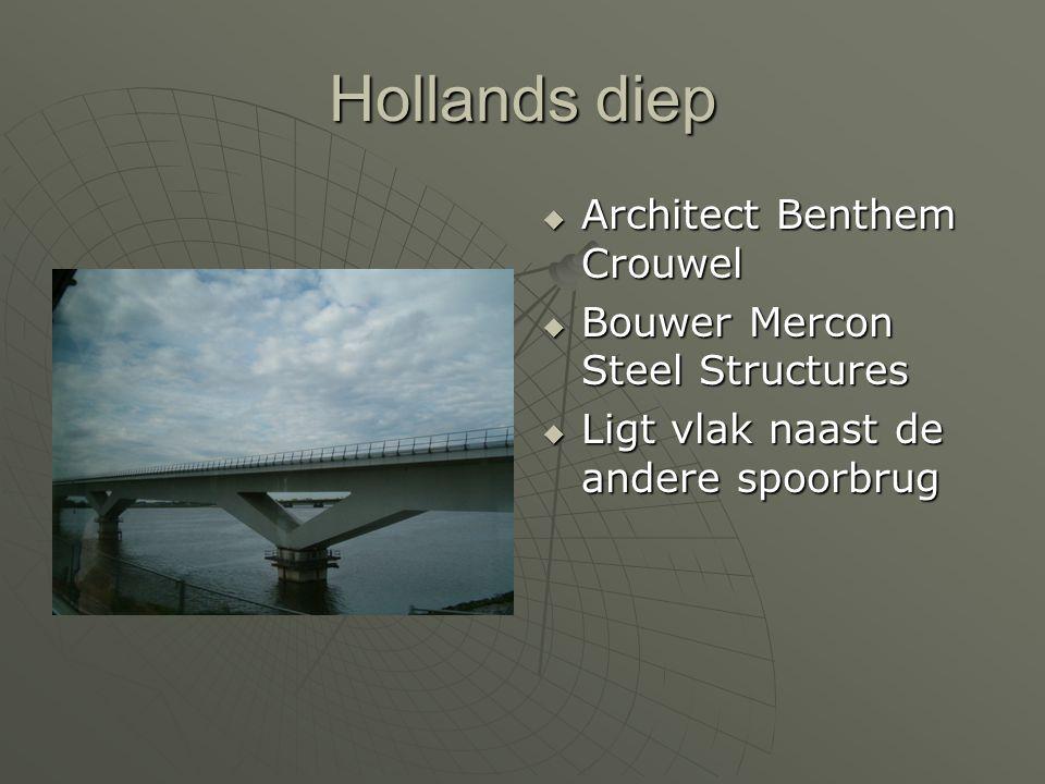 AAAArchitect Benthem Crouwel BBBBouwer Mercon Steel Structures LLLLigt vlak naast de andere spoorbrug