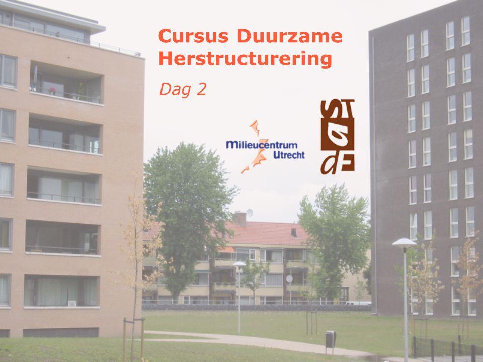 Cursus Duurzame Herstructurering Dag 2