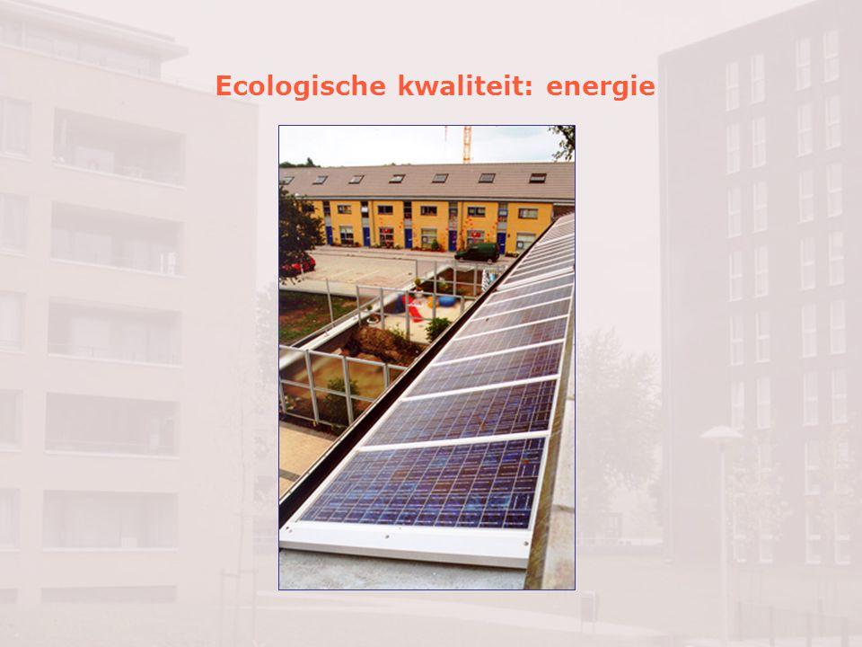 Ecologische kwaliteit: duurzame verkeersstructuur