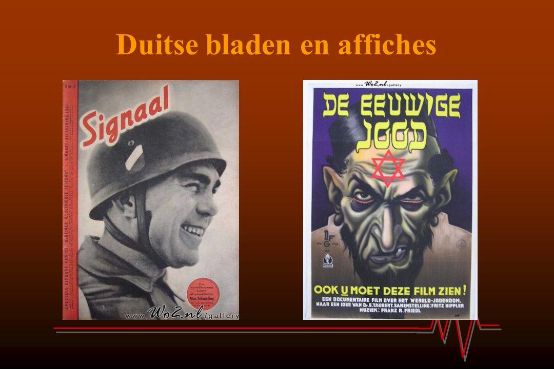 Duitse bladen en affiches