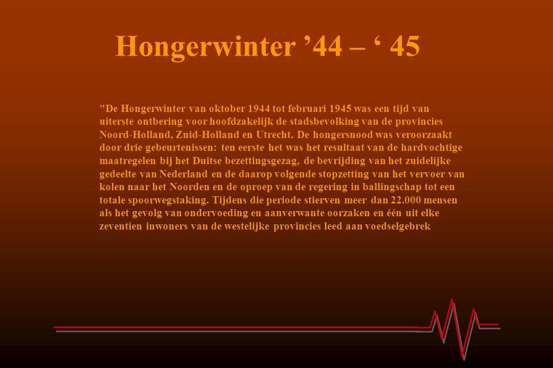 Hongerwinter '44 – ' 45