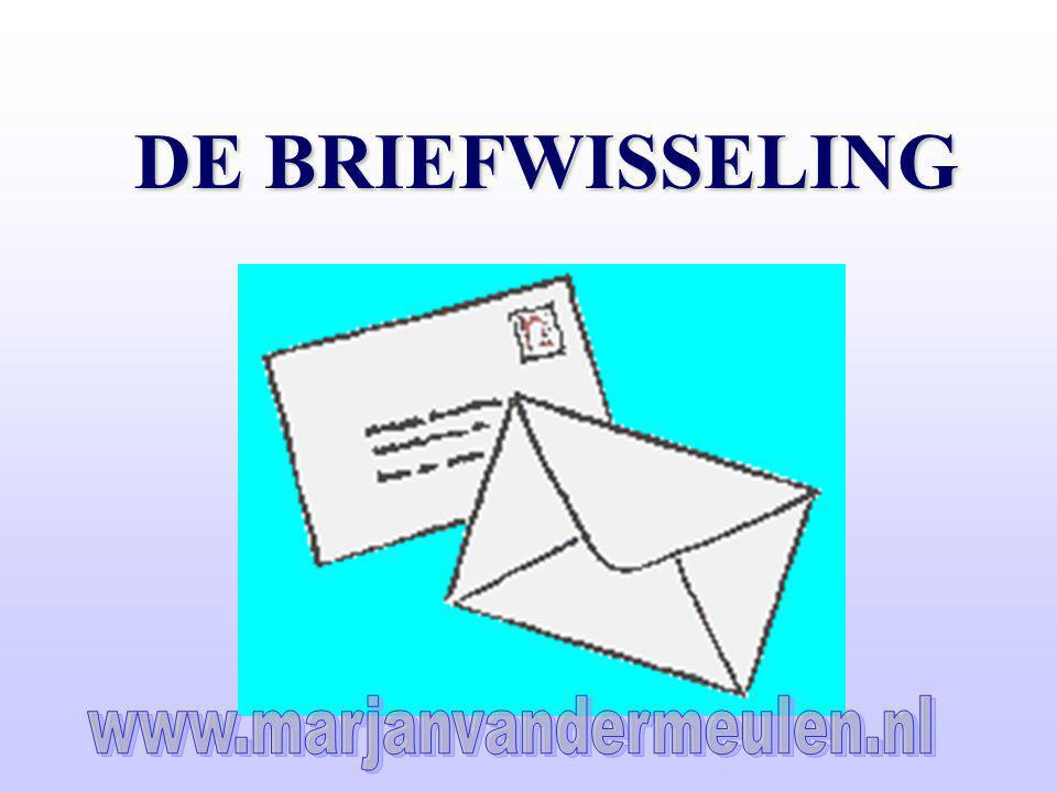 DE BRIEFWISSELING