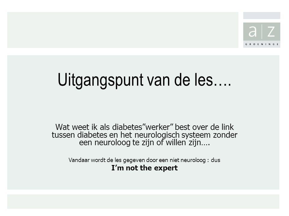 Wat .1. Neurologisch systeem 2. Neurologische termen 3.