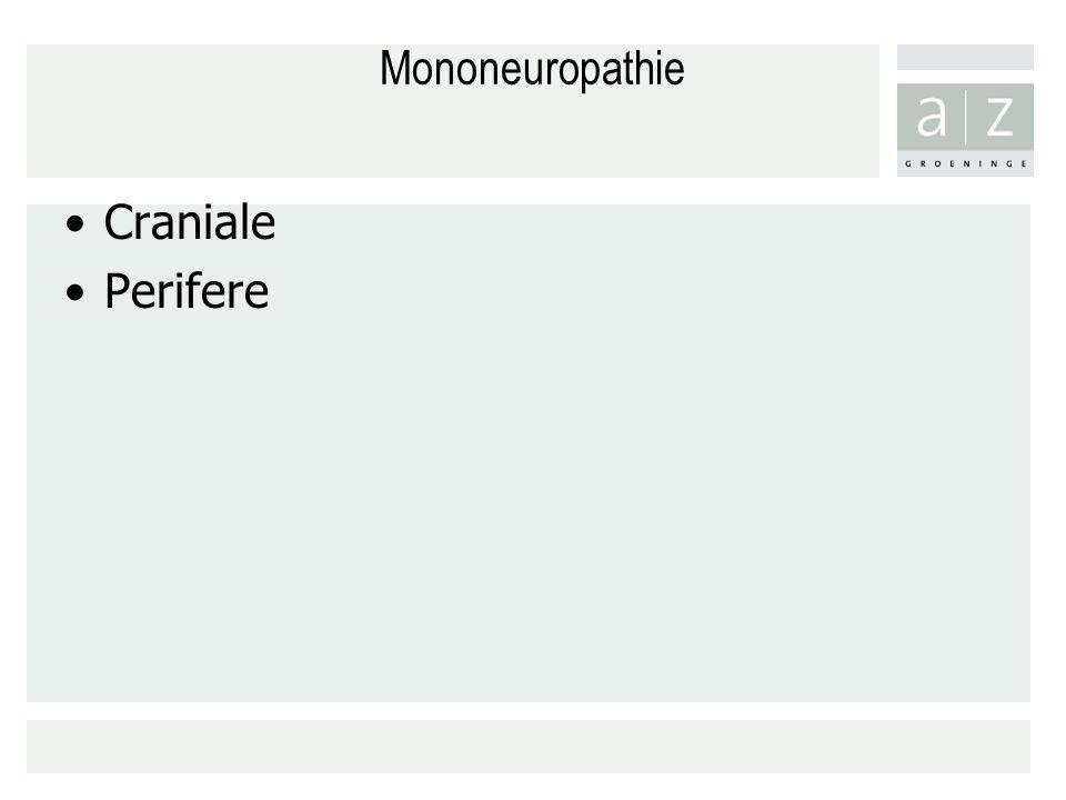 Mononeuropathie Craniale Perifere