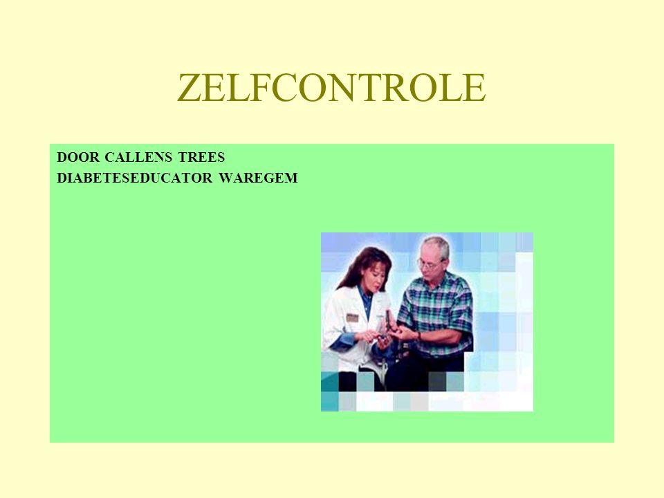 ZELFCONTROLE DOOR CALLENS TREES DIABETESEDUCATOR WAREGEM