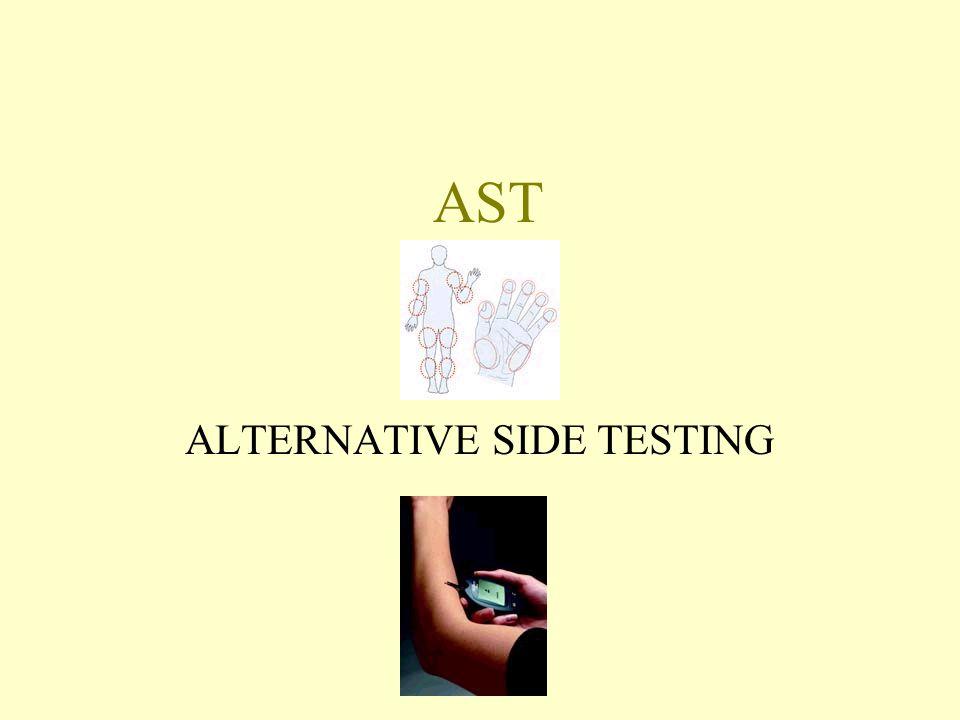 AST ALTERNATIVE SIDE TESTING