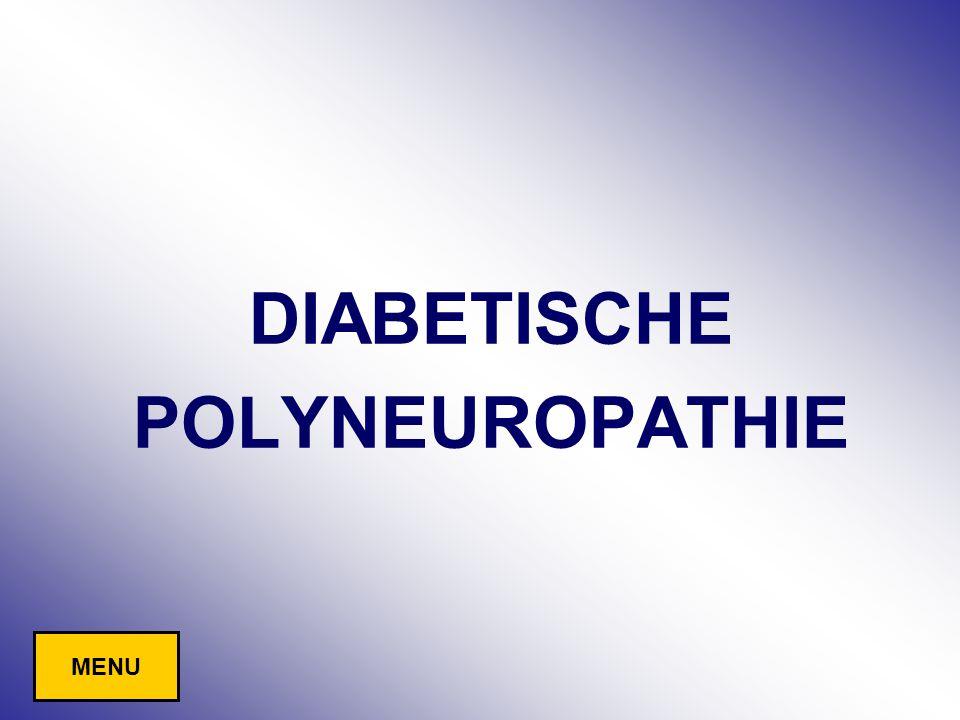DIABETISCHE POLYNEUROPATHIE MENU