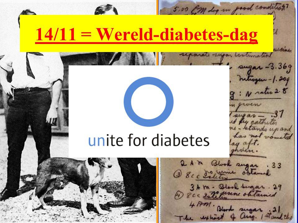 14/11 = Wereld-diabetes-dag