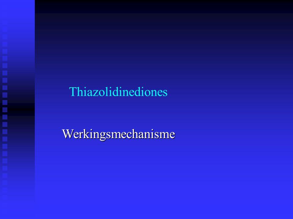 Thiazolidinediones Werkingsmechanisme
