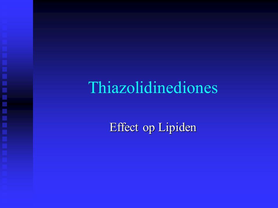 Thiazolidinediones Effect op Lipiden