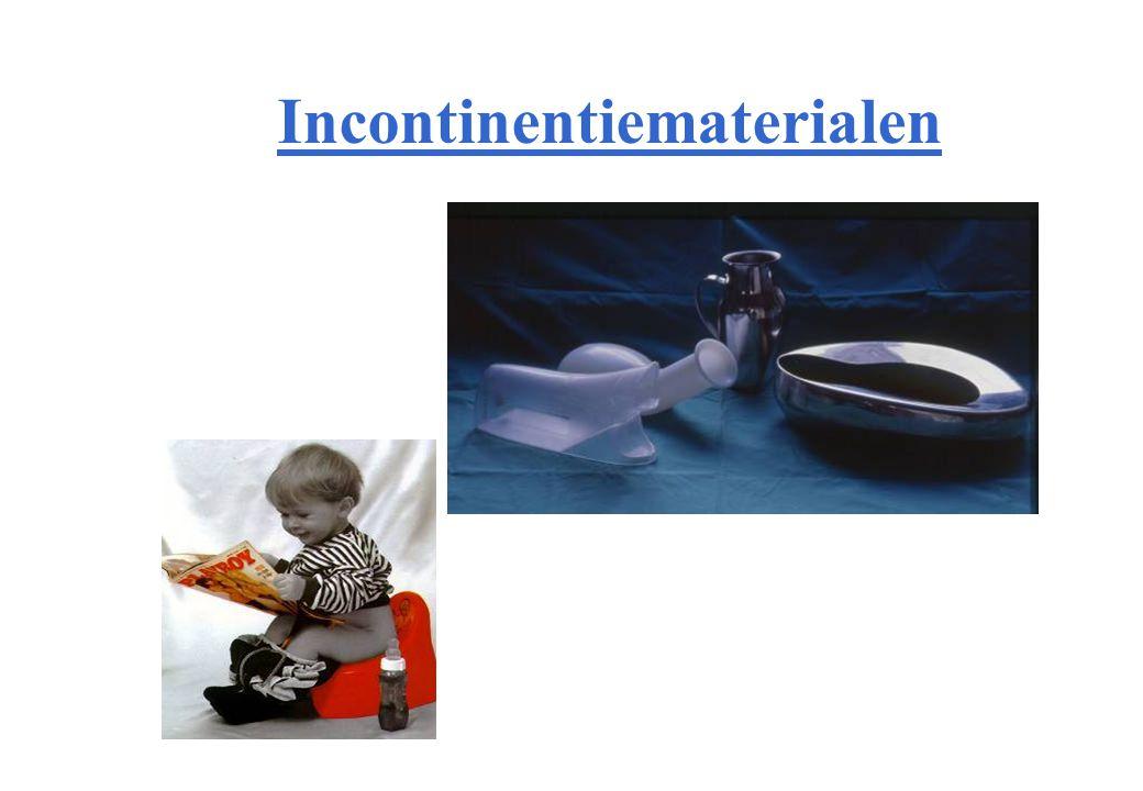 Incontinentiematerialen –Voorschrift is vereist.