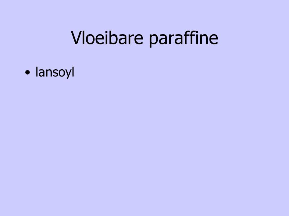 Vloeibare paraffine lansoyl