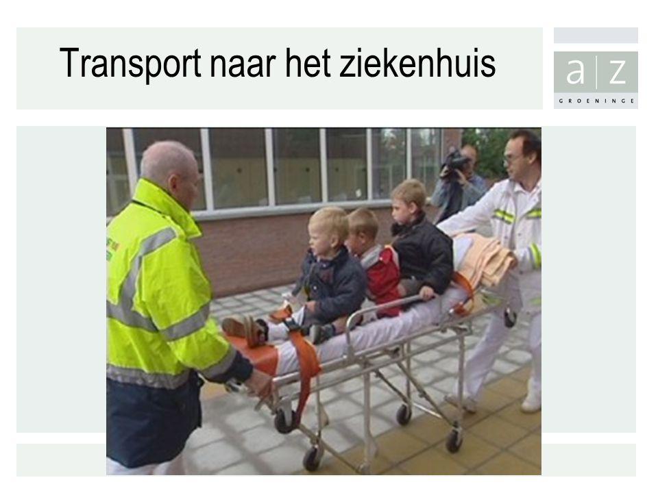Transport naar het ziekenhuis