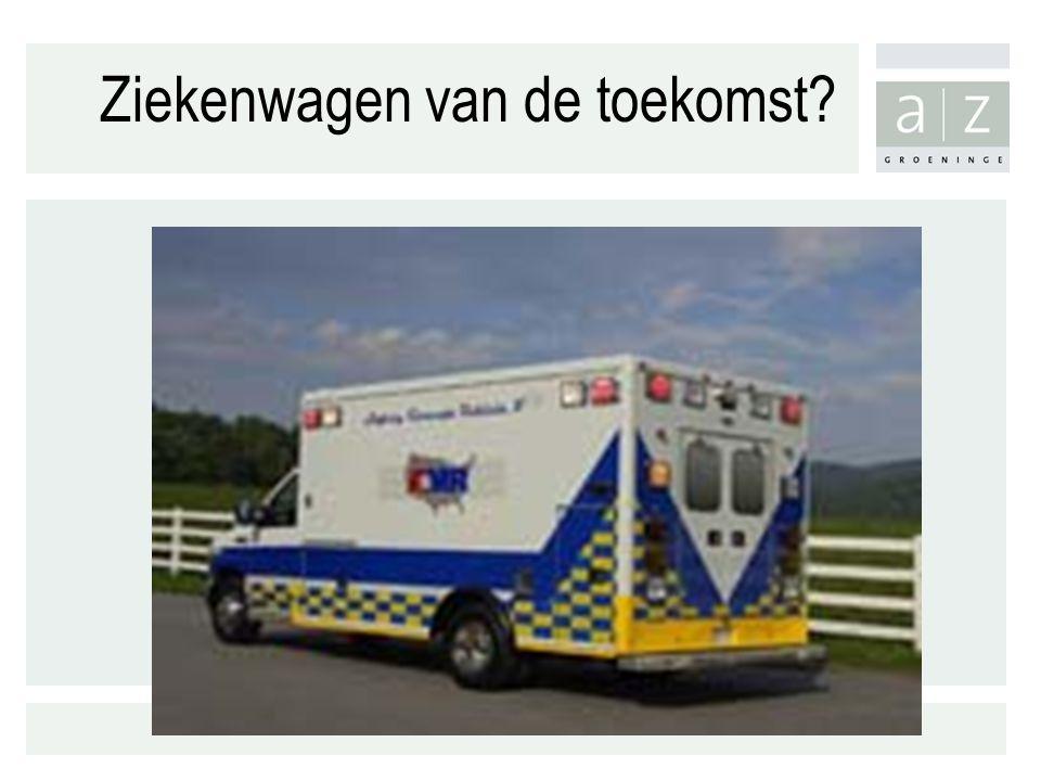 Ziekenwagen van de toekomst?