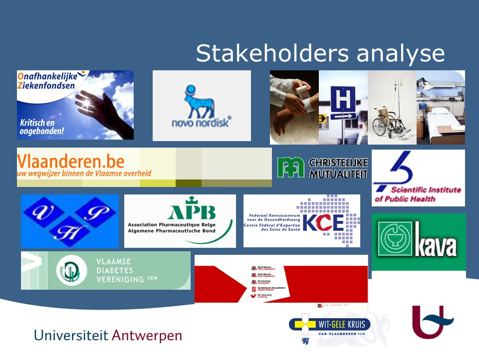 Stakeholders analyse