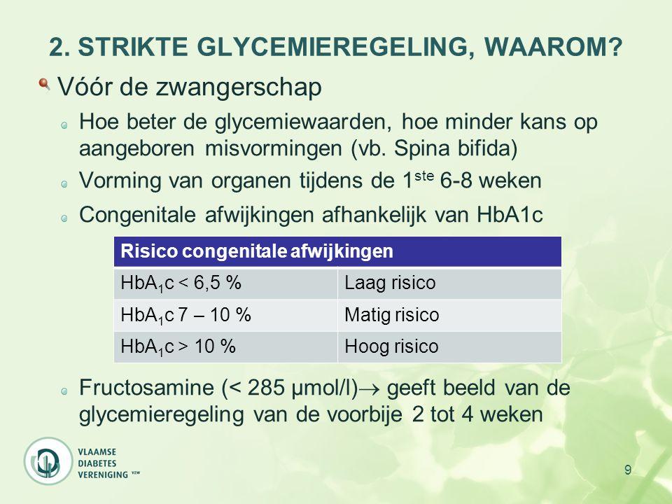 40 4.CASUS (6): FOLLOW-UP 29 weken zwanger: gewicht: 79.1 kg voedingsadvies wordt goed opgevolgd nuchtere glycemiewaarden rond 150 mg/dl HbA1c = 6.5 % gevolg: opstart insulinetherapie  Snelwerkende insuline voor de maaltijden (Actrapid)