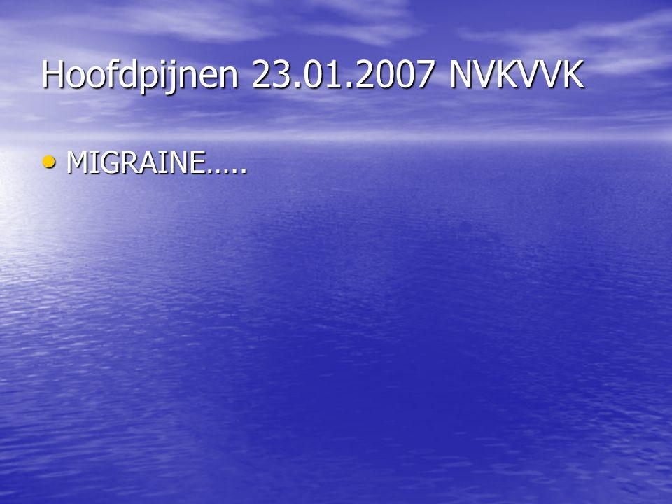 MIGRAINE….. MIGRAINE…..