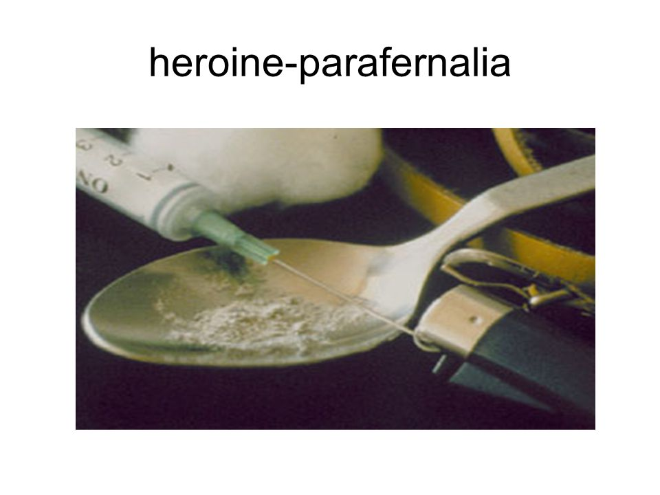 heroine-parafernalia