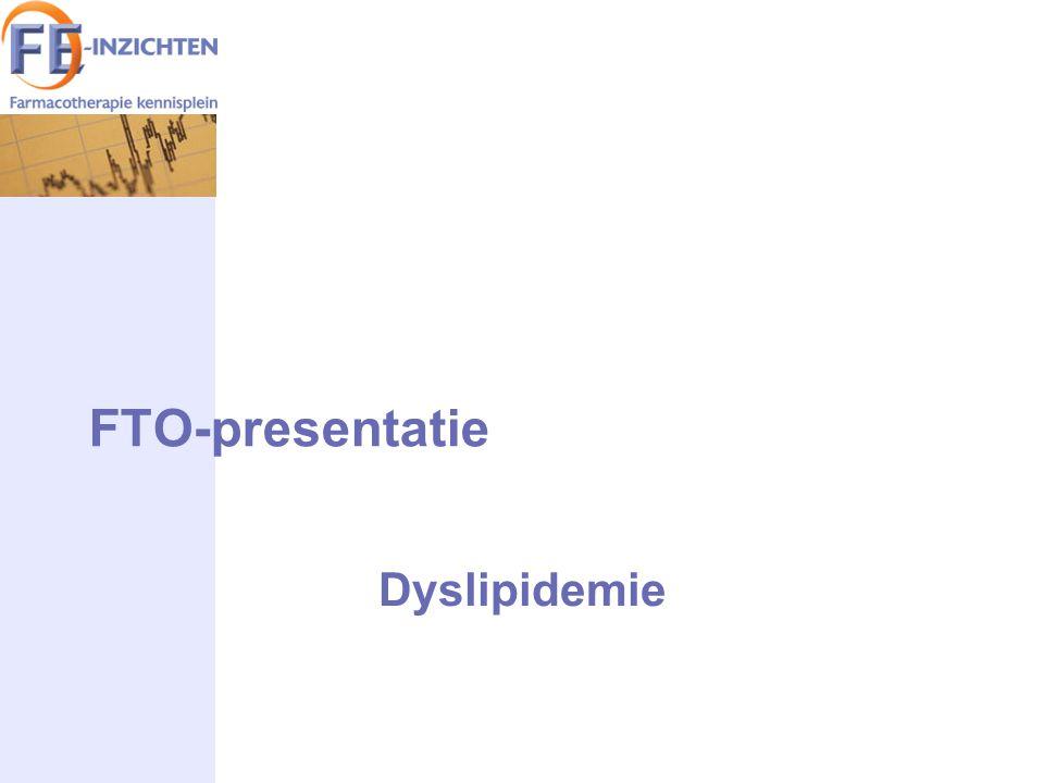 FTO-presentatie Dyslipidemie