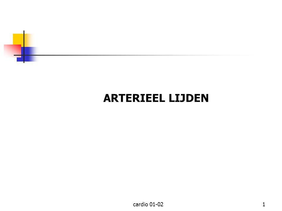 cardio 01-021 ARTERIEEL LIJDEN