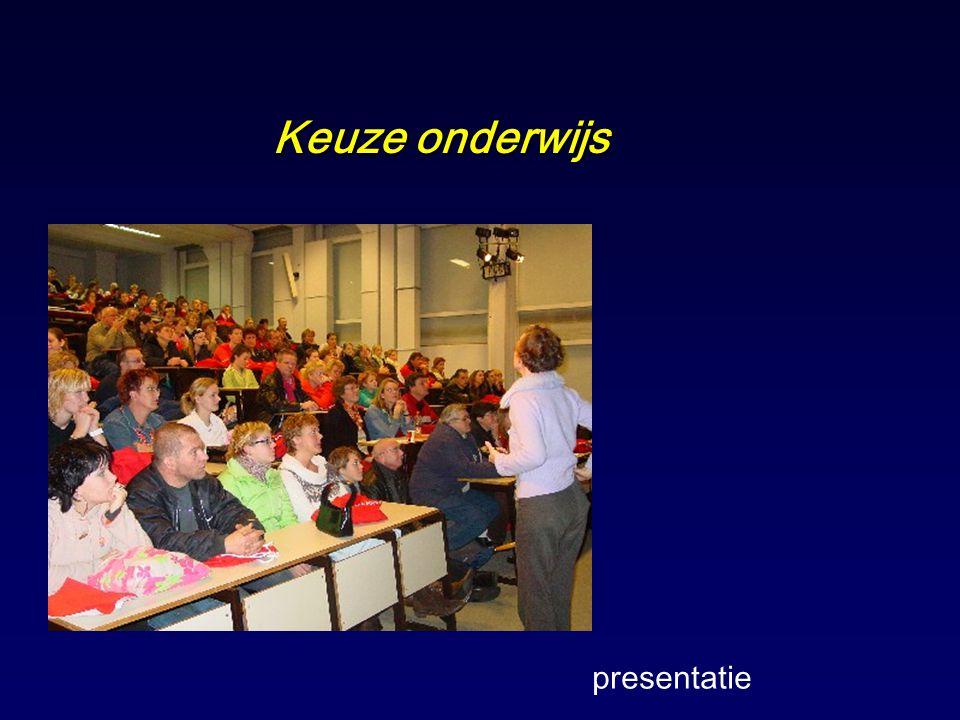 Keuze onderwijs presentatie