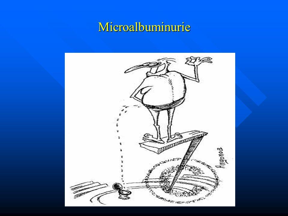 Microalbuminurie
