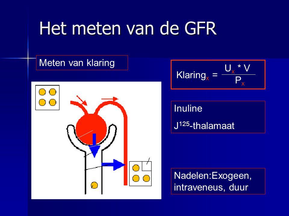 Wanneer verwijzen bij GFR 30-60 ml/min.–Verwijzen bij progressieve achteruitgang .