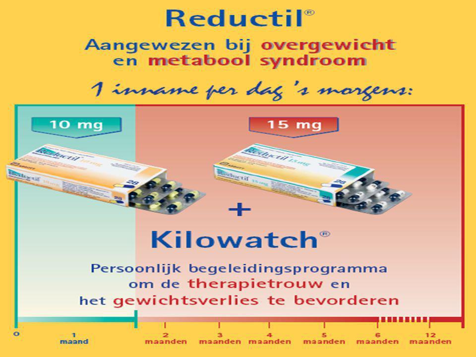 Reductil® Overgewicht en CV risicofactoren Date 50Company Confidential © 2005 Abbott
