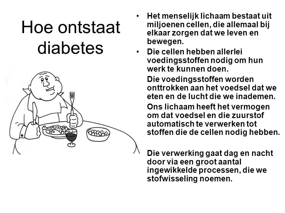 Insulineaanpassing Goed geregelde diabetes : glycemie voor sport < 150 mg% : dosisreductie Matig geregelde diabetes: glycemie voor sport 200- 250 mg% :geen dosisreductie voor korte inspanningen.