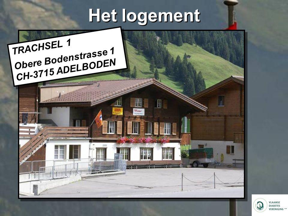 Het logement TRACHSEL 1 Obere Bodenstrasse 1 CH-3715 ADELBODEN TRACHSEL 1 Obere Bodenstrasse 1 CH-3715 ADELBODEN