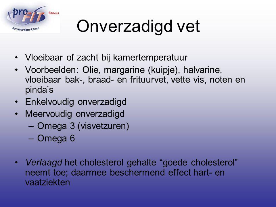 Onverzadigd vet Vloeibaar of zacht bij kamertemperatuur Voorbeelden: Olie, margarine (kuipje), halvarine, vloeibaar bak-, braad- en frituurvet, vette
