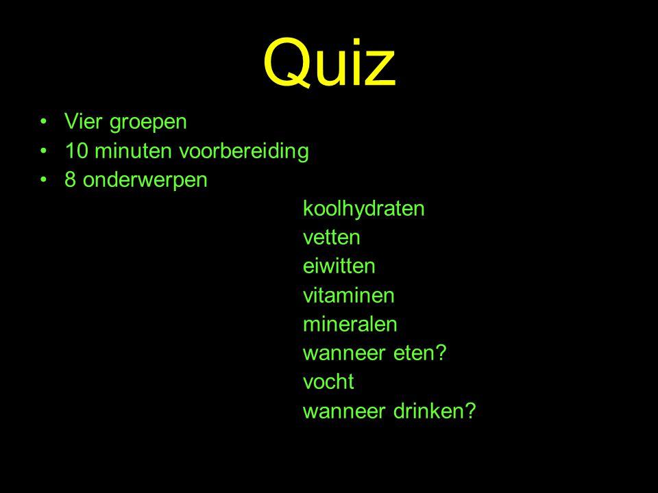 Mineralen Vraag 11 De gemiddelde Nederlander eet ongeveer 9 gram zout per dag.