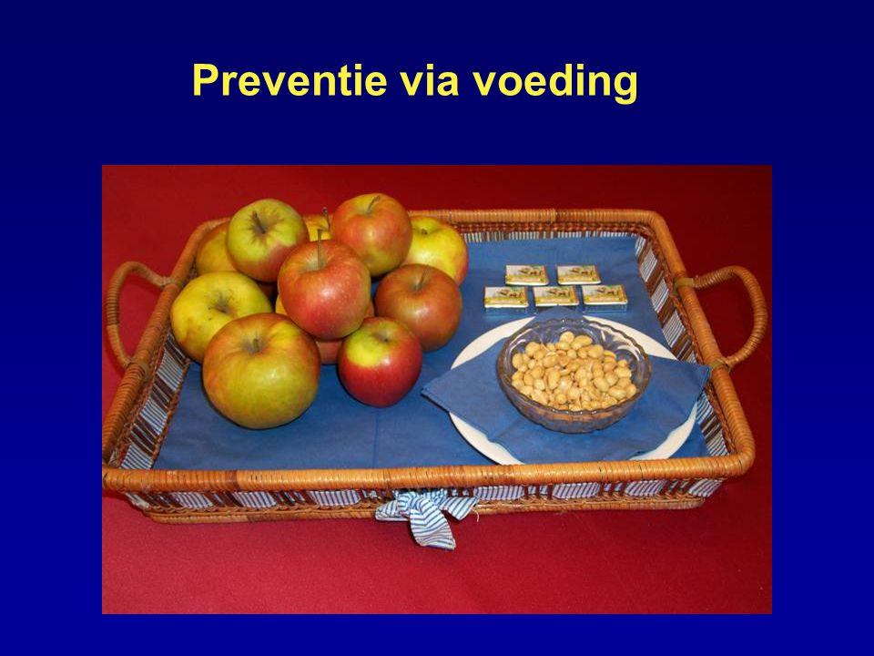 Preventie via voeding