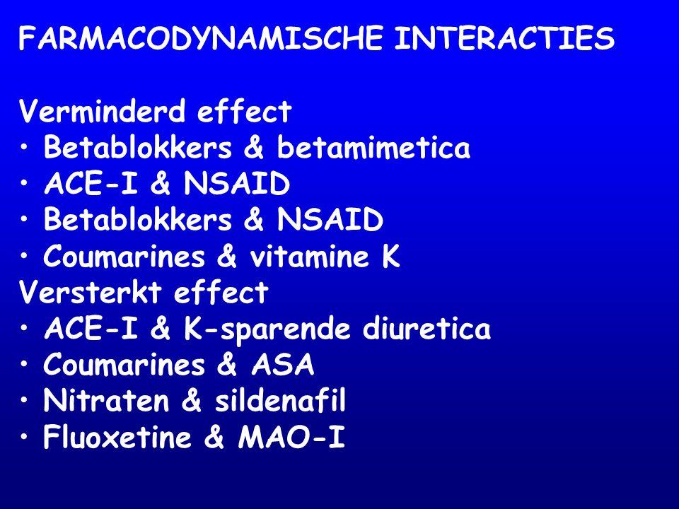 ADRENERGE NEUROTRANSMISSIE PRE POST L-tyr DOPA DA NOR  1  2  1  2  3 MAO carbidopa - reserpine - IMAO - ind.symp.mim.