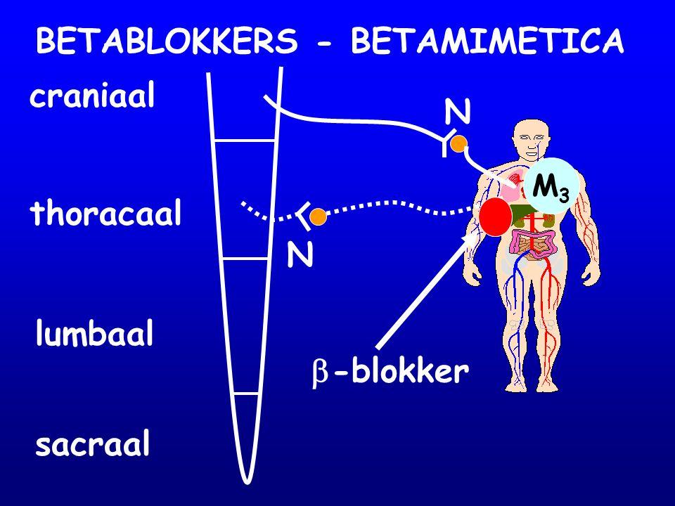 Rapport CSM (UK) Bronchospasmen door propranolol (n=51) - 13 fataal - 5/13 bij astma, bronchospasme, 'wheezing Selectieve .
