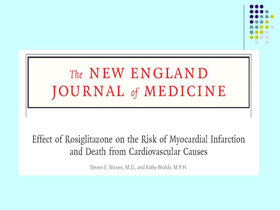 Overwegingen bij het maken van een OAD keuze Geneesmiddel groep Verwachte HbA1c Reductie Monotherapie Bijwerkingen Sulphonylureas (SUs) effect op IR – B cel prot - 1.5% Hypoglycemia, weight gain, possible cardiac ischemic risk with certain SUs Biguanide/ Metformin Effect op IR + B cel prot -/+ 1.5% Rare lactic acidosis, contraindicated in patients with renal impairment TZDs/ PPAR agonists Effect op IR + B cel prot + 0.5 to 1.5% Anemia, weight gain, edema, heart failure, cardiac ischemic risk, potential cancer risk (bladder cancer signal with pioglitazone), bone fracture risk DPPIV- inhibitors Effect op IR + B cel prot + (in vitro) 0.5 to 0.9% Limited clinical experience; non-clinical safety signals for many in development, ?skin AEs