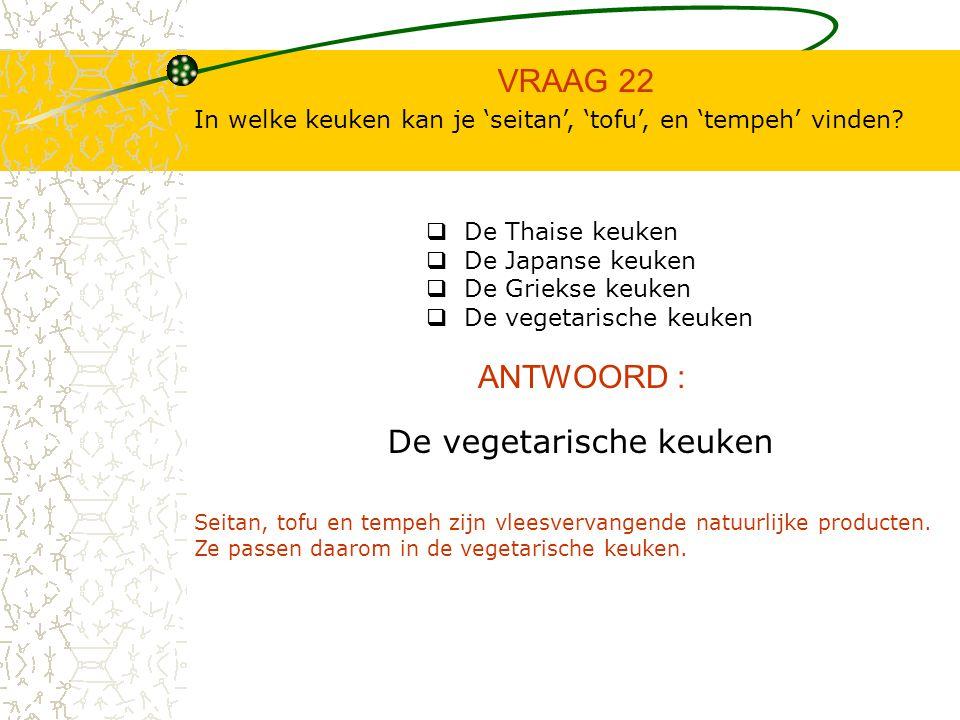 VRAAG 21 ANTWOORD : Kan je met kant- en klaarproducten een evenwichtige voeding samenstellen.  Waar  Niet Waar Niet waar In geen geval mogen de kant