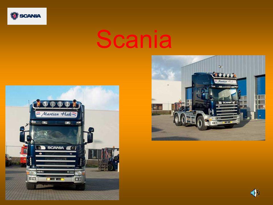 Veel wielconfiguraties voor zware omstandigheden De chassis voor de bouw van Scania kunnen worden geleverd met de volgende wielconfiguraties: 4x2 2 assen, één aangedreven as 4x4 2 assen, beide assen aangedreven 6x2 3 assen, één aangedreven as en met een vaste sleepas erachter 6x4 3 assen, dubbel aangedreven tandemstel 6x6 3 assen, alle assen aangedreven 8x2 4 assen, twee gestuurde vóórassen, één aangedreven met een vaste sleepas erachter 8x2/4 4 assen, één aangedreven as met een gestuurde sleepas ervóór en een vaste sleepas erachter (dubbel gestuurd) 8x2*6 4 assen, twee gestuurde vóórassen, één aangedreven as met een gestuurde sleepas erachter 8x4 4 assen, twee gestuurde vóórassen, dubbel aangedreven tandemstel achter Aandrijving