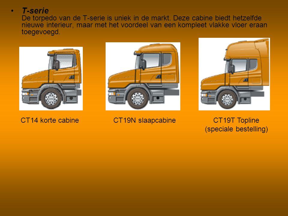Bakwagens Bakwagens voor de lange afstand van de R-serie bieden een grote keuze in wielbases, as-configuraties en chassishoogtes.