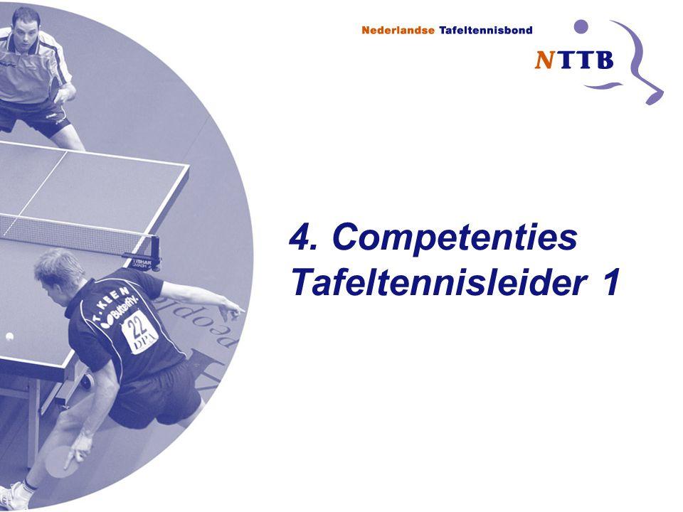 4. Competenties Tafeltennisleider 1