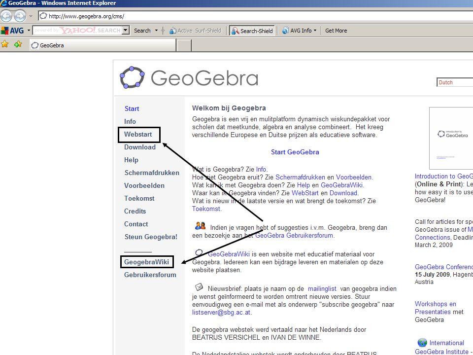 Open het geogebrabestand stellingvanthales.ggb op het bureaublad