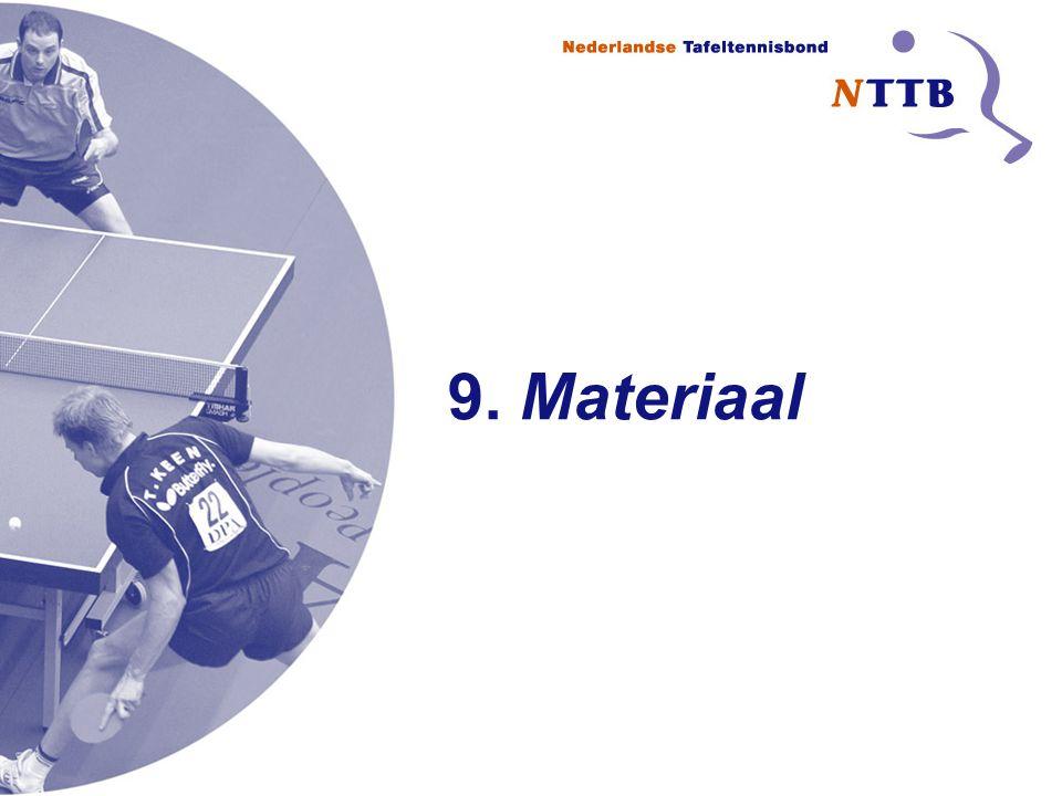 9. Materiaal