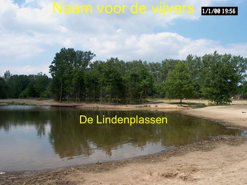 Naam voor de vijvers De Lindenplassen