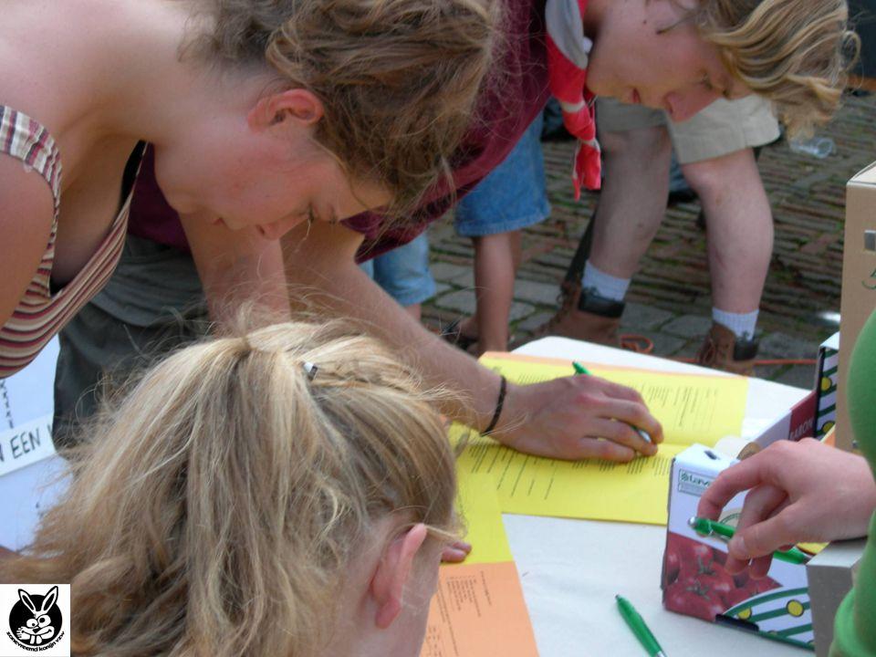 Doelstelling enquête: Jongeren (uit Brasschaat) bevragen over fuiven en uitgaan.
