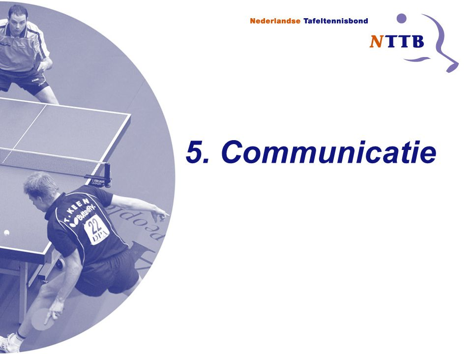 5. Communicatie