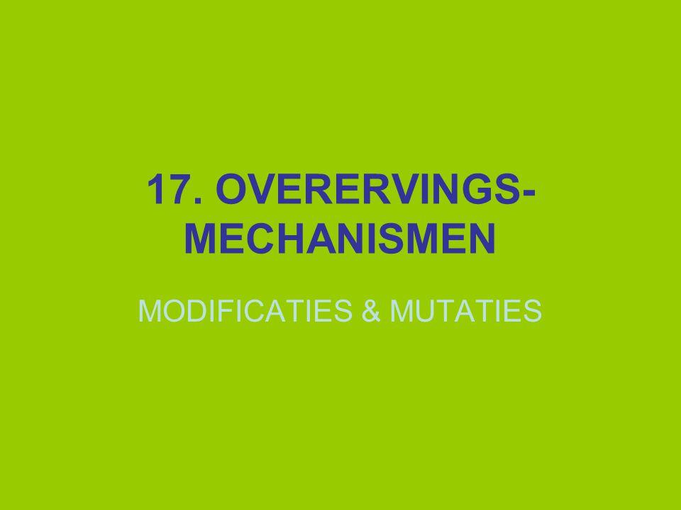 MUTATIES Mutagene factoren soms ook cancerogeen  Ames-test